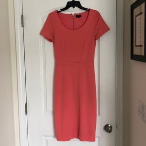 The Limited coral career dress